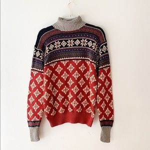 Polo By Ralph Lauren Oversized Christmas Sweater M